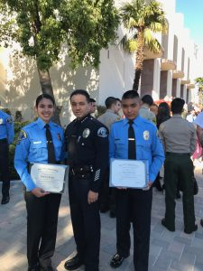 Newly Appointed Police Explorers - Huntington Park Police